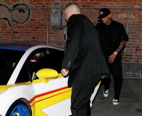 Chris Brown Lamborghini