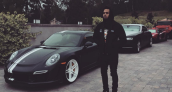 Chris Brown Porsche 911