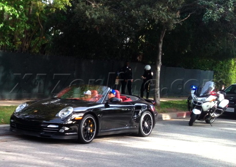 Chris Brown Porsche Turbo S