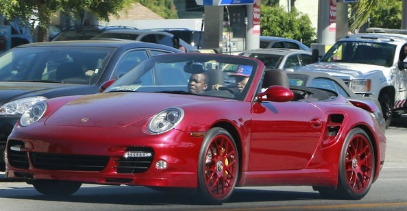 Chris Brown Porsche