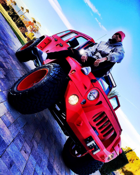 Chris Brown S Custom Jeeps Celebrity Cars Blog