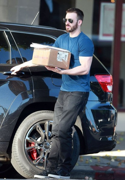 Chris Evans Jeep