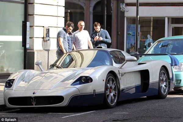 Chris Evans Maserati MC12