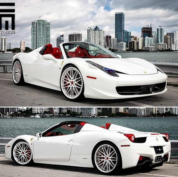 Chris Johnson Ferrari 458