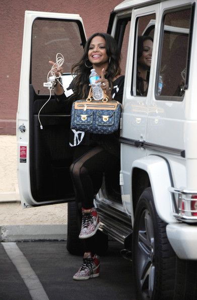 Christina Milian Mercedes G-Wagon