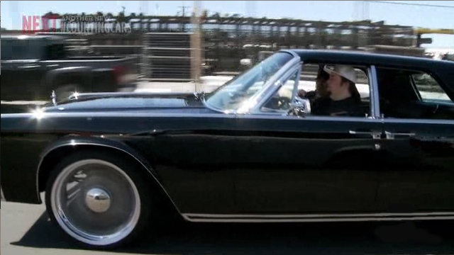 "Chumlee cruising with Danny ""The Count"" Koker"