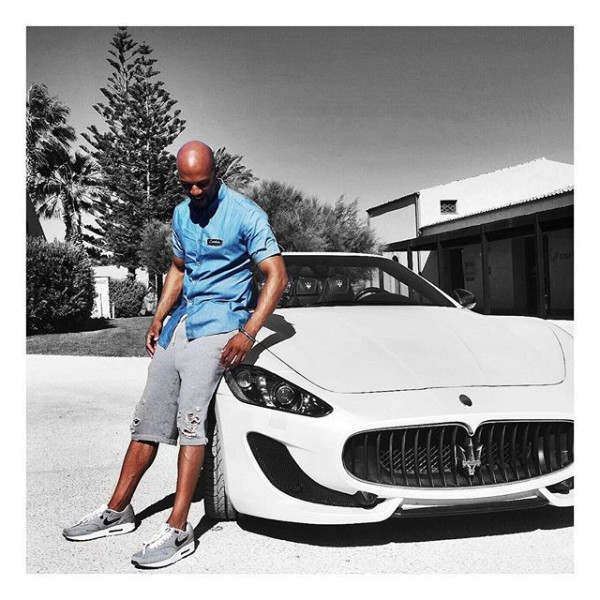 Common Whips a Maserati while in Rome