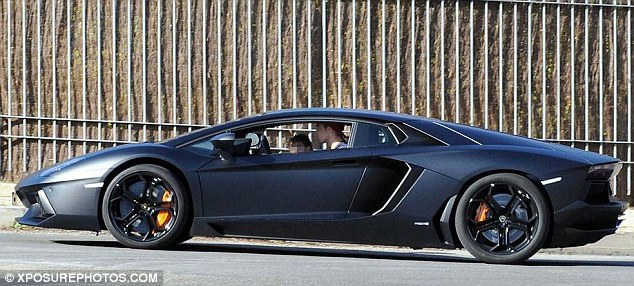 Ronaldo S Lamborghini Aventador Breaks Down Celebrity Cars Blog