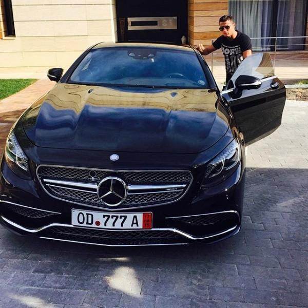 Cristiano Ronaldo Mercedes Benz