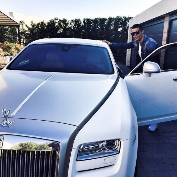 Cristiano Ronaldo Rolls Royce