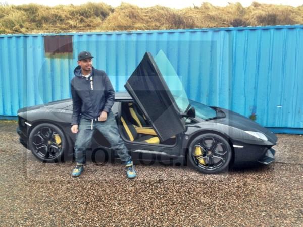 DJ Afrojack Lamborghini