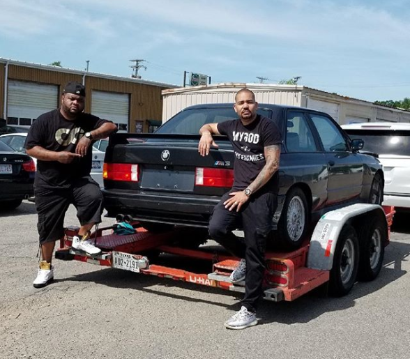 DJ Envy Brought the Trailer ? BMW E30 M3