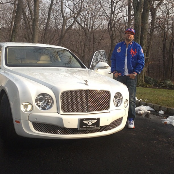 DJ Envy Bentley Mulsanne