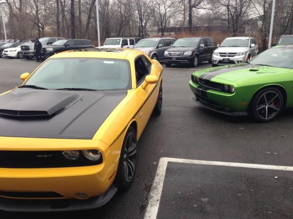 DJ Envy Dodge Challenger
