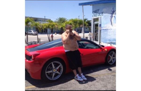 DJ Khaled Ferrari 458
