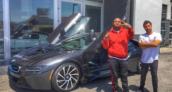 DJ Mustard BMW i8