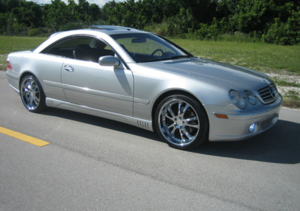 DMX Mercedes Benz CL500