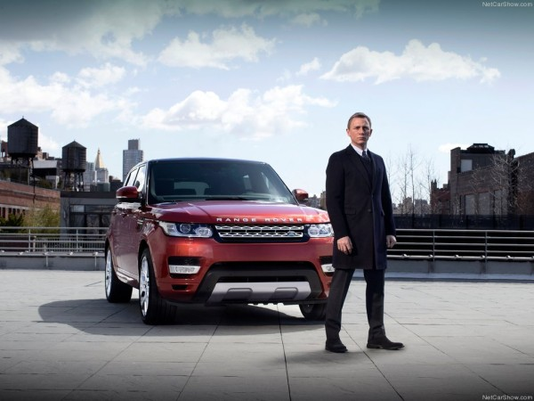 Daniel Craig Range Rover