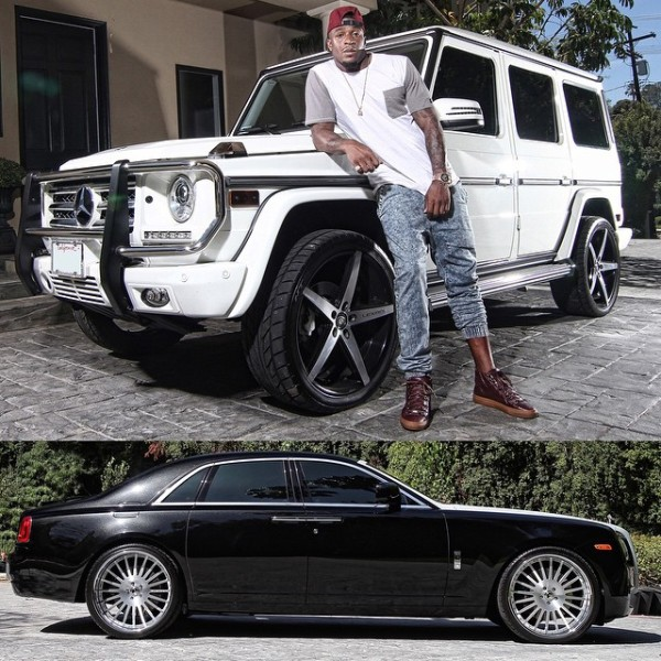 Dashon Goldson Rolls Royce