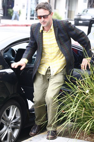 David Arquette's Lexus