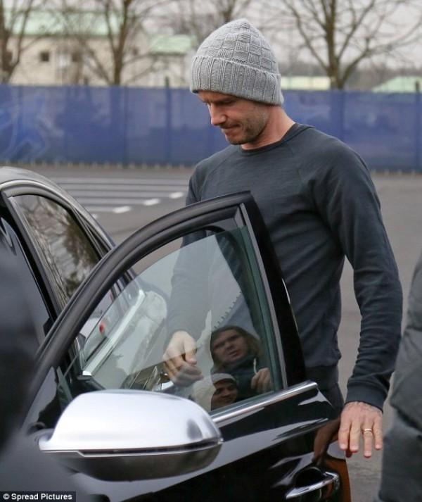David Beckham Audi