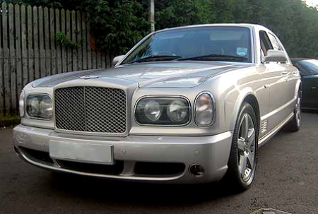 David Beckham Bentley Arnage For Sale