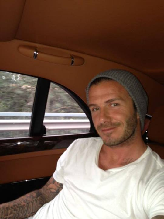 David Beckham Bentley Mulsanne