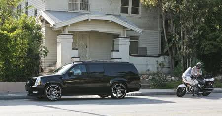 David Beckham's Cadillac Escalade
