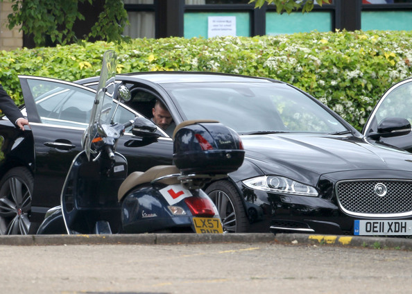 David Beckham Jaguar XF