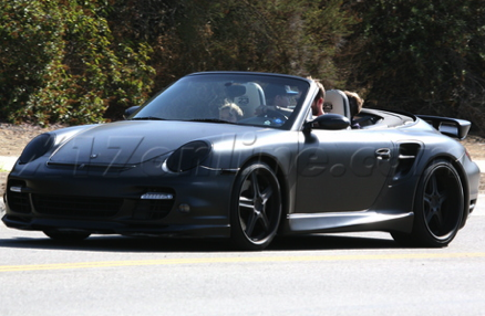 David Beckham Murdered-Out Porsche Turbo