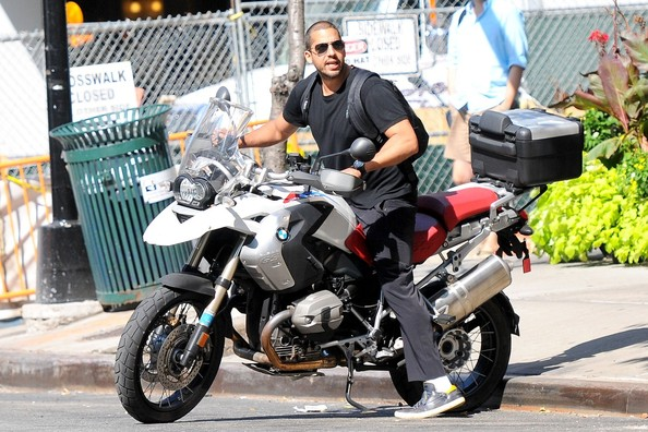 David Blaine BMW Motorcycle