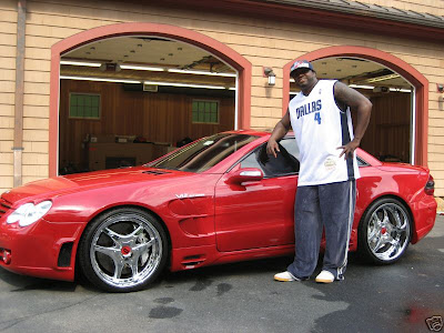 David Ortiz Mercedes SL For Sale