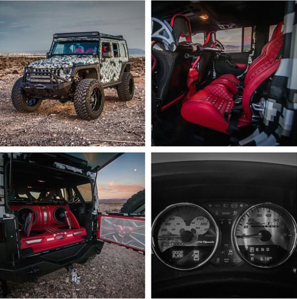 Deadmau5 Jeep Wrangler