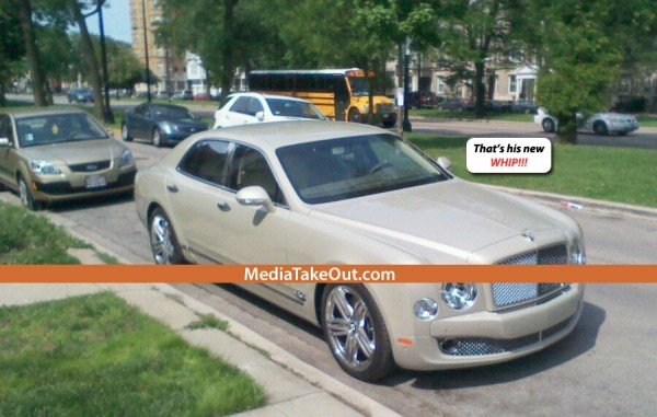Derrick Rose Bentley Mulsanne