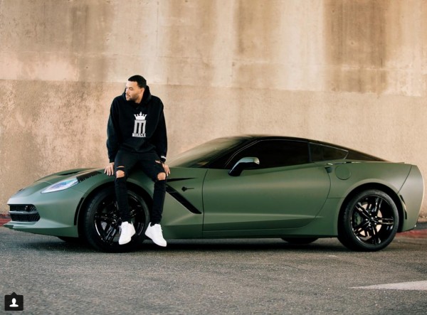Don Benjamin and His Army Green Vette