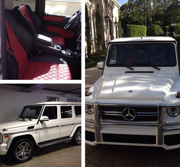 EJ Johnson Mercedes Benz G Wagon