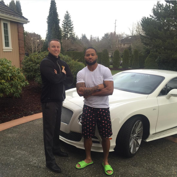 Earl Thomas III Bentley Continental