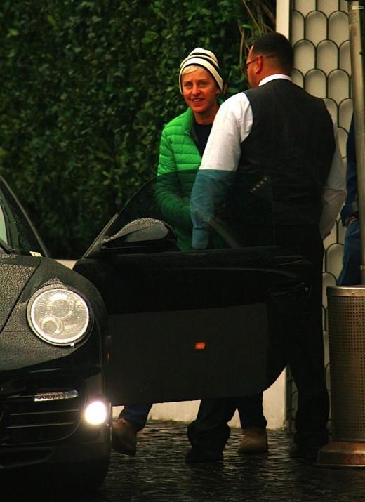 Ellen Degeneres Porsche