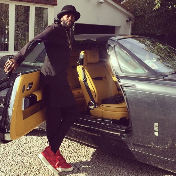 Emmanuel Adebayor Rolls Royce