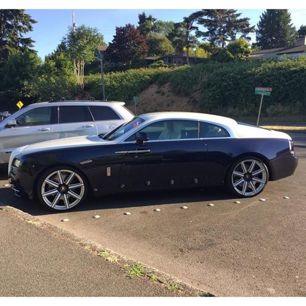 Felix Hernandez Rolls Royce