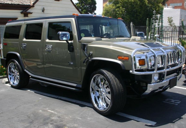 Fergie's Hummer H2 for Sale