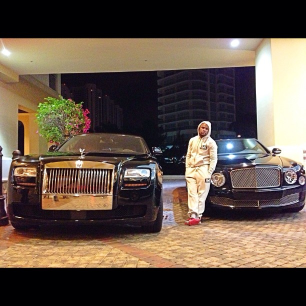 Floyd Mayweather Bentley