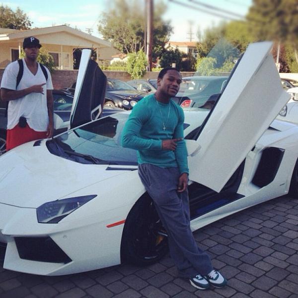 Floyd Mayweather Lamborghini
