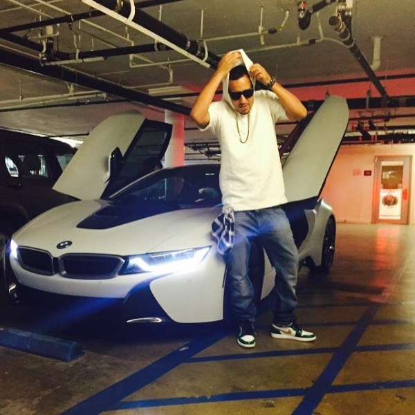French Montana BMW i8