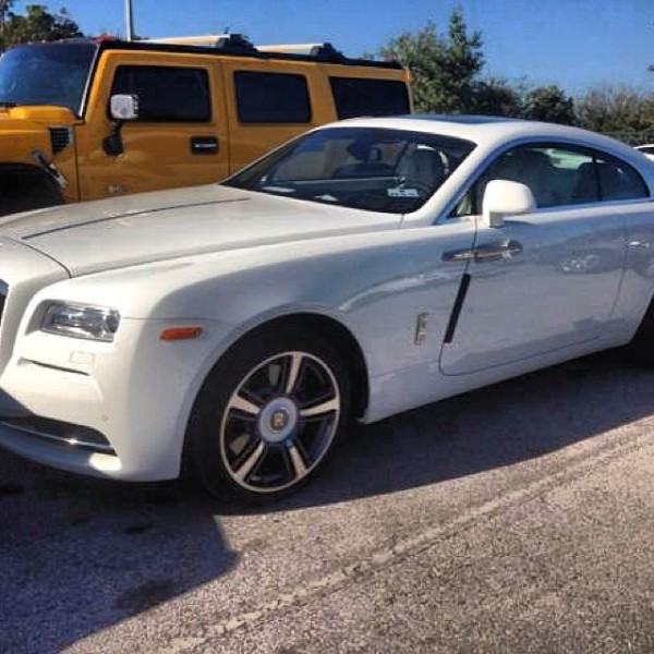 French Montana Rolls Royce Wraith