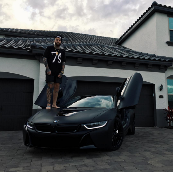 Chris Fronzilla Fronzak S Bmw I8 Celebrity Cars Blog