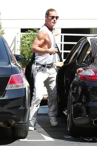 Gavin Rossdale Porsche Panamera
