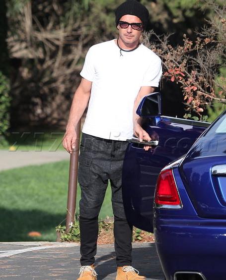 Gavin Rossdale Rolls Royce Wraith