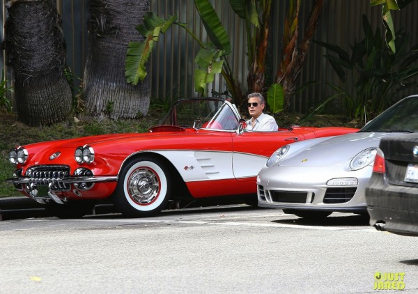 George Clooney Chevrolet Corvette