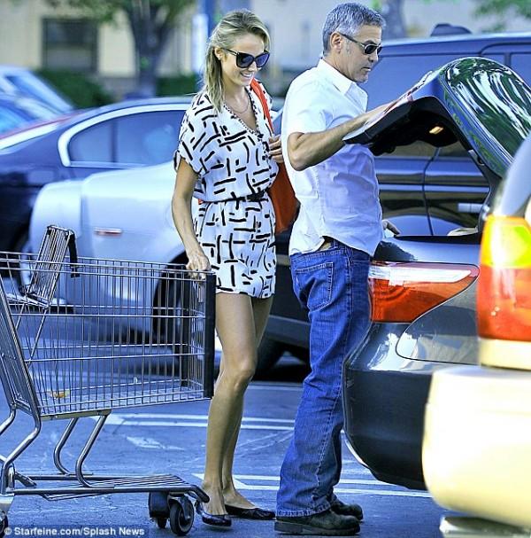 George Clooney Lexus LS